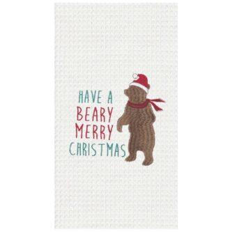Beary Christmas Towel