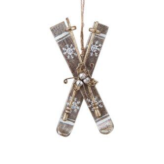 Alpine Ski Ornament
