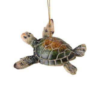 Cozumel Reef Sea Turtle Ornament