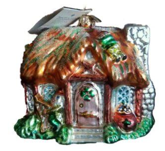 Radko Rare Retired Killarny Cottage ornament