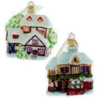 Radko Rare Retired Vintage Dainty alpine Frostville Ornaments Two Styles