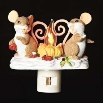Night Light Mouse around the Campfire