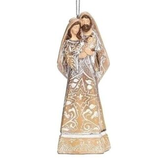Native American Holy Family Ornament