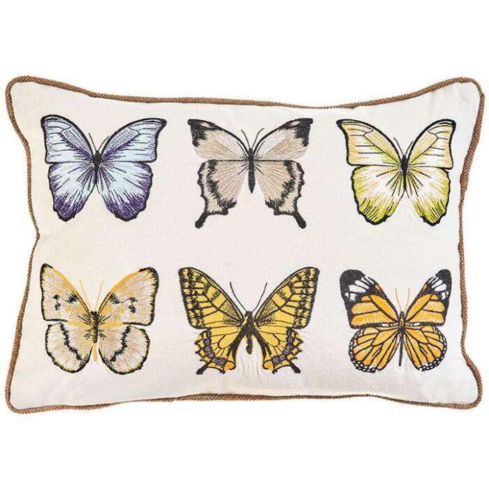 Six Butterfly Pillow