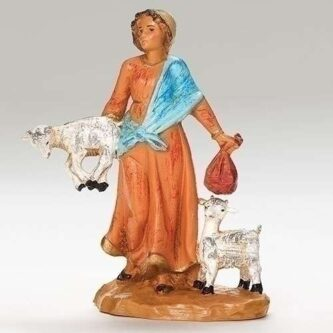 Fontanini 5 inch scale Melia, Goat Herder Nativity collection