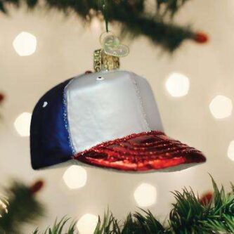 Old World Christmas Baseball Cap Ornament
