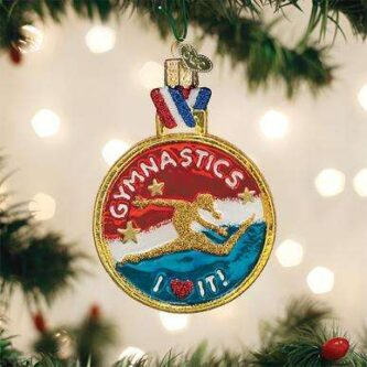 Old World Christmas Gymnastics ornament