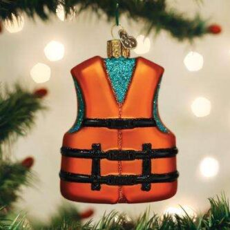 Old World Christmas Life Jacket Ornament