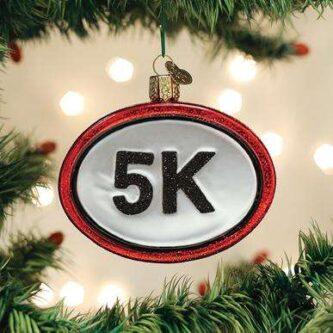 Old World Christmas 5K Run Ornament