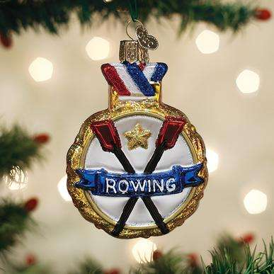 Old World Christmas Rowing Ornament