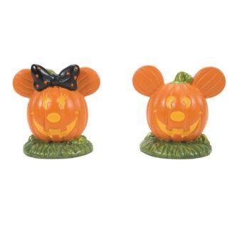 Dept. 56 Mickey's Pumpkintown Topiaires
