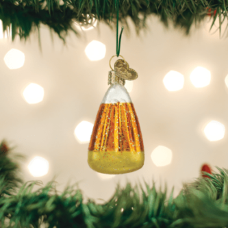 Old World Christmas Candy Corn Ornament
