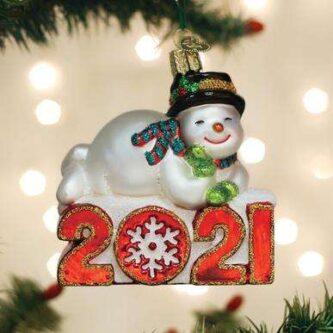 Old World Christmas 2021 Snowman ornament
