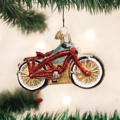 Old World Cruiser Bike Ornament