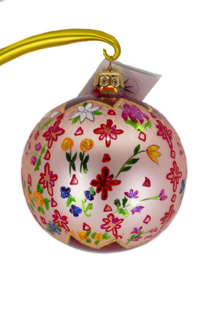 Radko Rare Retired vintage Grandmother's Garden Ornament