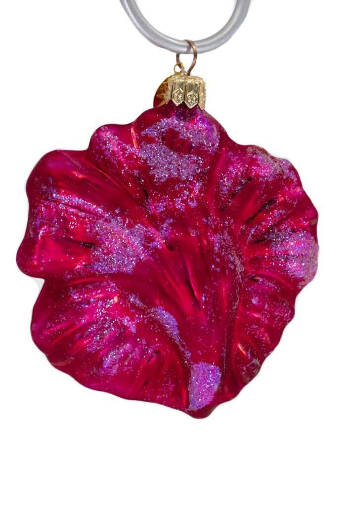 Radko Rare Retired vintage Hibiscus Pink Ornament