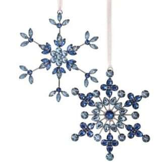 Blue Wire with jewels ornament two styles