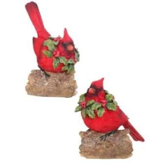 Red Cardinal Stocking Holders Two Styles