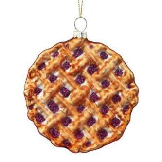 Blueberry Pie Ornament