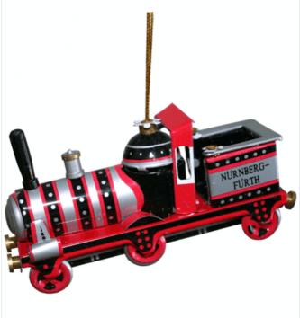 Collectible Nürnberg-Furth Lokomotive Replica