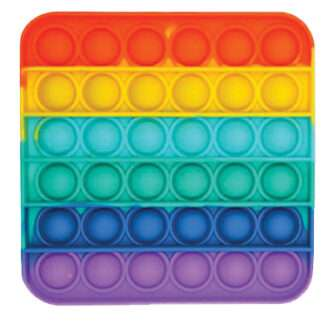 Square Rainbow Sensory Pop