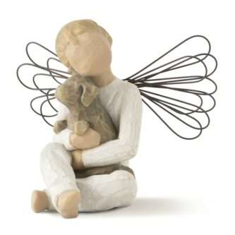 Angel of comfort with Pet Willow Tree