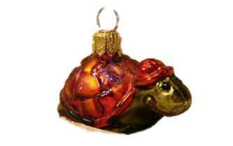 Radko RJ Turtle Ornament
