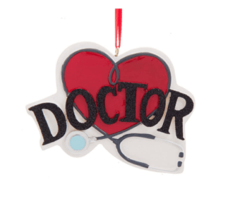 Doctor Ornament personalize