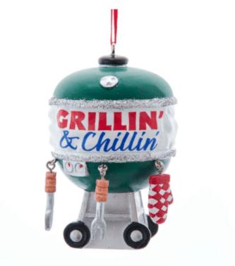 BBQ ornament