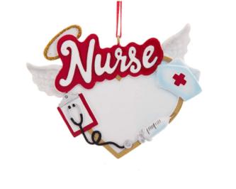 Nurse Ornament Angel