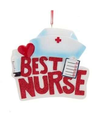 Best Nurse Ornament