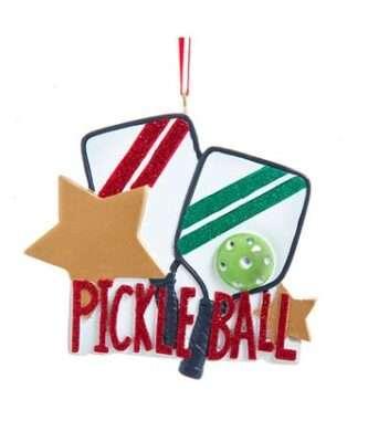 Pickle Ball Ornament