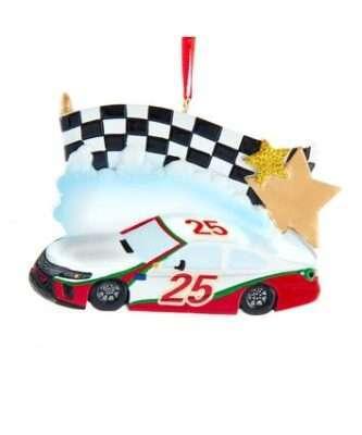 Race Car Personalized Ornament
