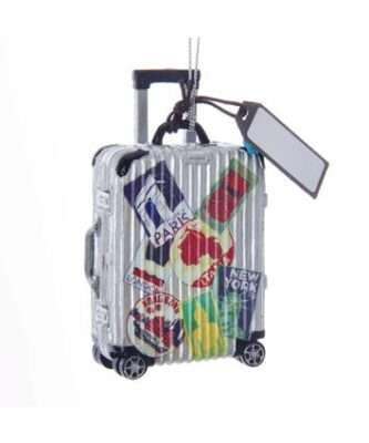 Travel Luggage Ornament For Personalization