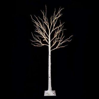7' Birch Fairy Light Tree
