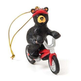 Bear foot Bear Bicycle ornament