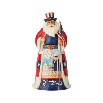 America Santa Around the World Jim Shore Heartwood Creek