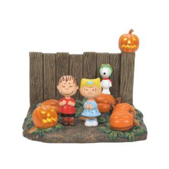 D56 Peanuts Village Is It The Great Pumpkin?