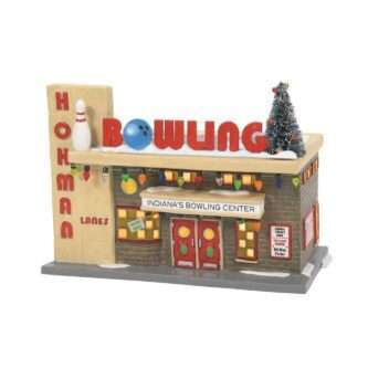 Hohman Lanes Bowling A Christmas Story Village D56