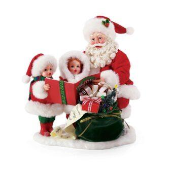 Caroling with Santa