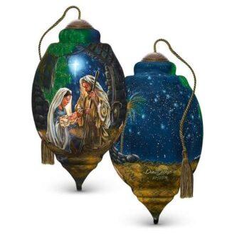 Ne'Qwa Art Glory to God Ornament