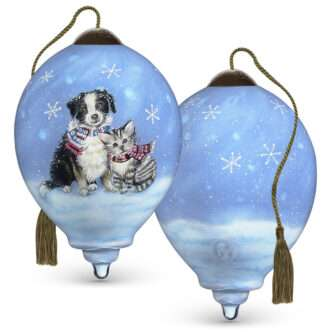Bundled In Love Ornament Ne'Qwa