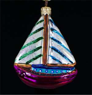 Radko Rare Retired Ball/Umbrella/Boat/Gull