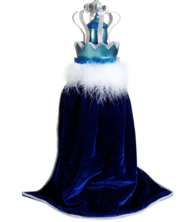 Hollywood™ Blue King With Swarovski Nutcracker Back