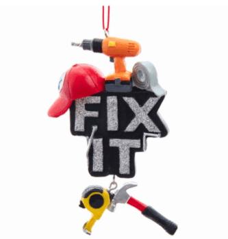 """""""Fix It"""" Tools Ornament"""
