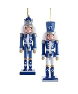 Indigo Dreams Nutcracker Ornaments