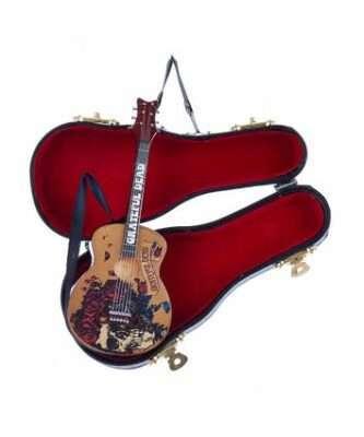 Grateful Dead™ Guitar With Black Case Ornament