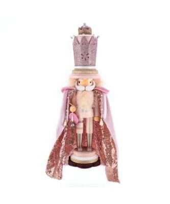 "19"" Hollywood™ Pink King Nutcracker"