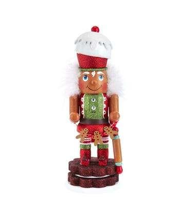 "12"" Hollywood™ Gingerbread Nutcracker"