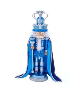 Hollywood™ Blue King With Swarovski Nutcracker